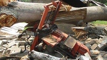 Saved by a Sawmill in the Congo